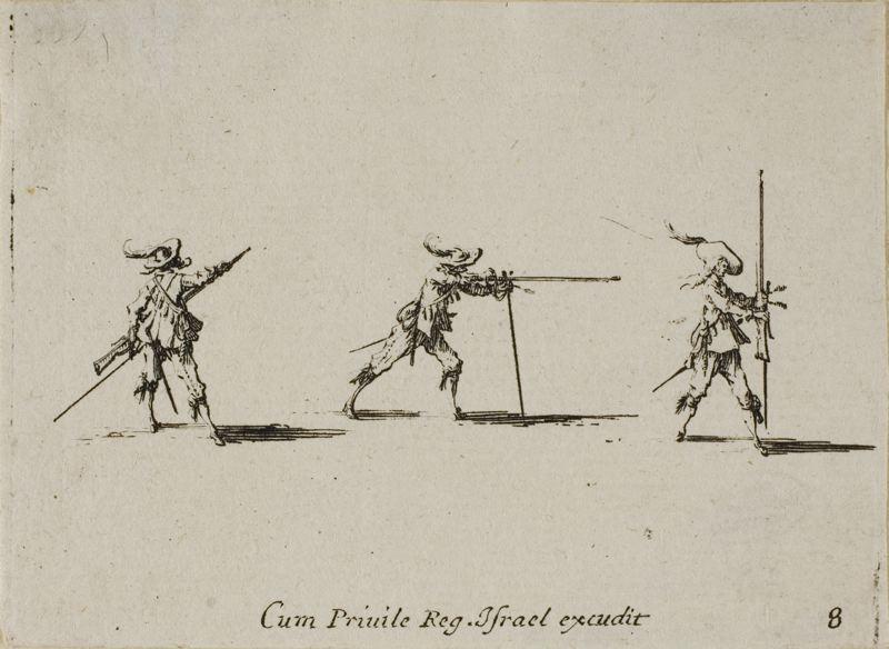 3 Firing a Musket