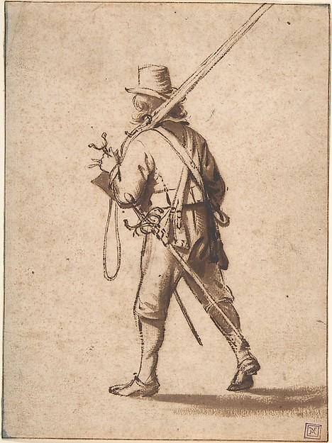4 Musketeer walking