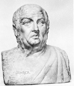 Lucius Seneca - His model for tragedy served as a model for many playwrights