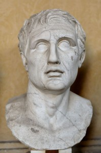 Menander - a Roman playwright whose Old Comedy model was used by Jonson.