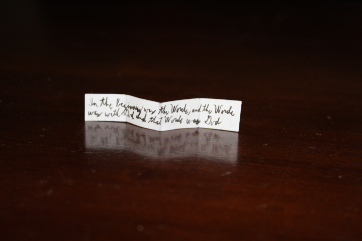 John 1:1 amulet